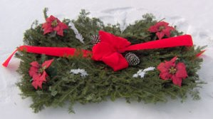 grave blankets northern evergreen fresh christmas greens